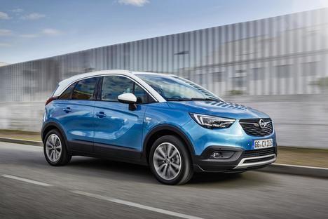 La producción del Opel Crossland X se reanuda en Zaragoza