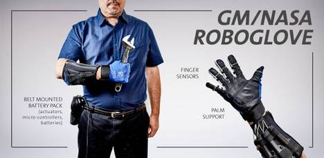Crean un guante robótico que multiplica la fuerza de agarre