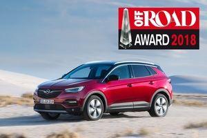 El Opel Grandland X gana el premio Off Road
