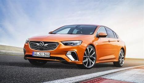 Opel Insignia con tracción total, potencia y agarre