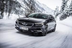 Tracción integral para el nuevo Opel Insignia