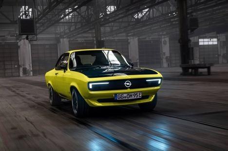 El Manta está de vuelta, el primer Elektromod de Opel