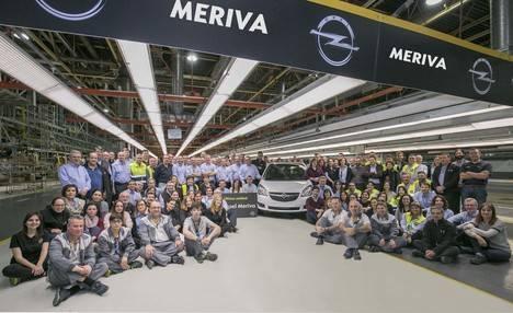 Figueruelas dice adiós agradecida al Opel Meriva