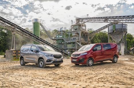 Opel Combo Cargo y Vivaro con tracción total