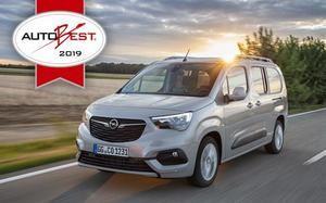 El Opel Combo Life triunfador en la Gala Autobest