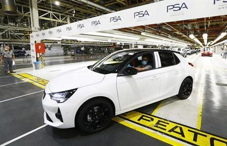 Los primeros Opel Corsa salen de la planta de Zaragoza