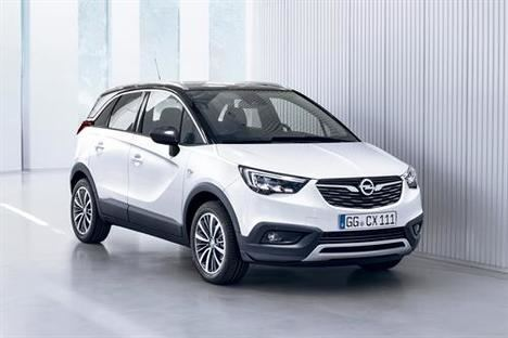 Opel Crossland X, el modelo más vendido en España en abril