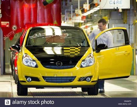 La fábrica de Opel de Eisenach cumple 30 años