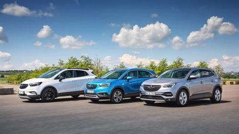 Familia X de Opel