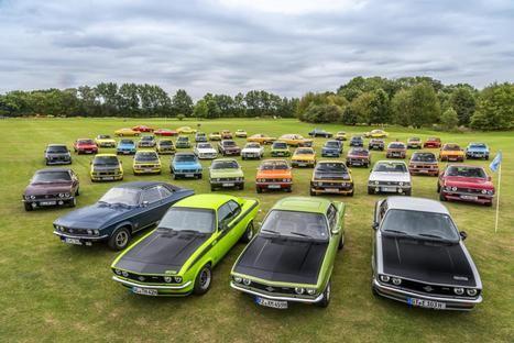 El Opel Manta recorre Timmendorfer Strand