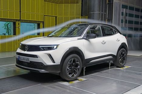 La avanzada aerodinámica de nuevo Opel Mokka