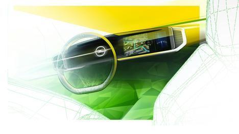 El nuevo Mokka es el primer modelo que incorpora el futuro Cockpit Opel