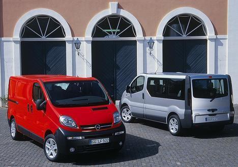 "Opel Vivaro: 20 cumpleaños del furgón con ""jumbo roof"""