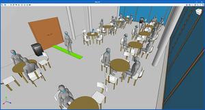 CYPE desarrolla un software para diseñar, calcular e implantar las medidas de seguridad en espacios ante la COVID-19