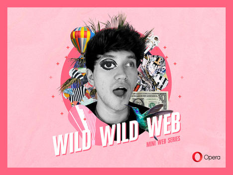 El candidato elegido por Opera para ganar 9.000$ por navegar en Internet protagoniza su nueva serie online 'Wild Wild Web'