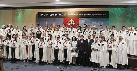 La Orden del Camino de Santiago firma convenios con países de América para promocionar el turismo y el Camino de Santiago