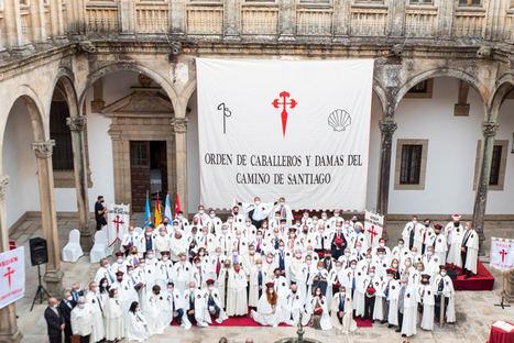 La Orden nombra 37 nuevos miembros durante el capítulo en Santiago de Compostela con la participación de 17 países