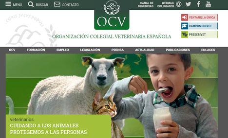 La OCV muestra al Gobierno el compromiso de los veterinarios para atender a animales en granjas y clínicas dentro del estado de alarma