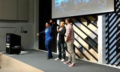 Outbarriers gana la competición de Startups del Día del Emprendedor en Campus Madrid de Google