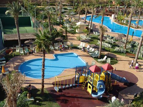 Los niños, reyes del verano en Puerto Antilla Grand Hotel
