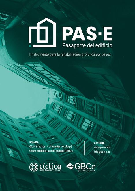 Nace el PAS-E, Pasaporte del edificio, un instrumento para acelerar la rehabilitación del parque edificado hacia la descarbonización