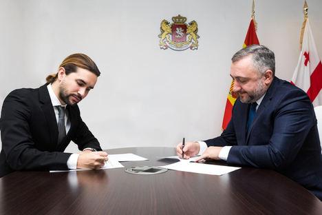 La Embajada de Georgia en el Reino de España suscribe memorando con Pavón Chisbert Abogados