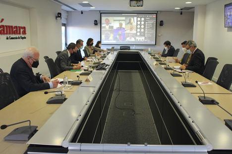 El Secretario General de Industria y Pyme explica en Cámara de España el desarrollo del PERTE del Vehículo Eléctrico y Conectado