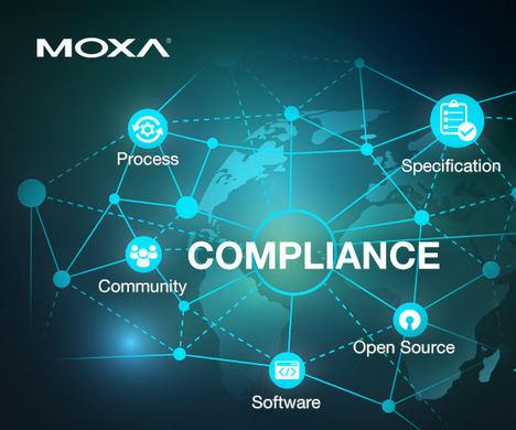 Moxa se incorpora al Proyecto OpenChain como miembro platino para apoyar la conformidad del código abierto