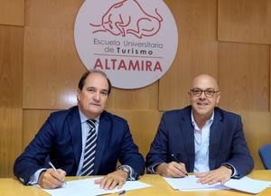 """La Escuela Universitaria de Turismo """"Altamira"""" de Santander y NEC Ibérica han convocado recientemente el Primer Premio de Investigación sobre """"Tecnologias en las Empresas Turisticas"""""""
