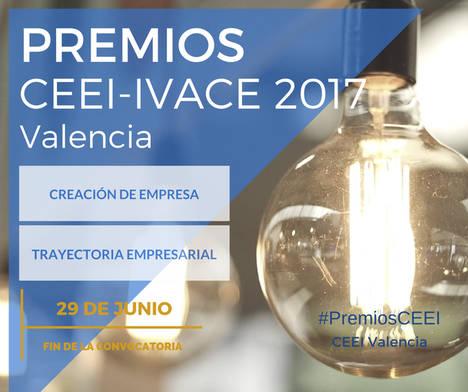 Abierta la convocatoria 2017 de los Premios CEEI-IVACE Valencia