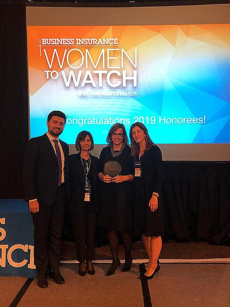 Benedetta Cossarini, premio Business Insurance Women to Watch EMEA 2019