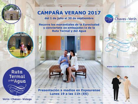 La Eurocidade Chaves- Verín invita a los visitantes a convertirse en embajadores de esta ruta termal