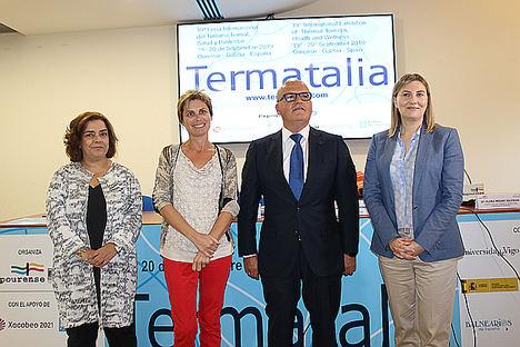Termatalia 2019 reafirma su papel de gran cita mundial del turismo de salud reuniendo a profesionales de 34 países