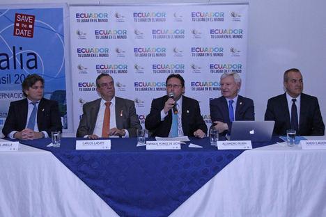 Ecuador confirma su participación en Termatalia Brasil 2018