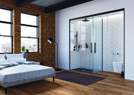 Profiltek presentará sus novedades para el espacio de ducha en el salón IdéoBain París 2017