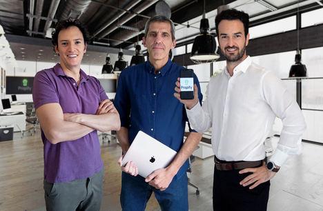 Ángelo Delle Piane, José Nascimento y Óscar Bedoya, PROPIFY
