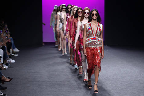 La Moda española preparada para celebrar la 67ª Mercedes-Benz Fashion Week Madrid