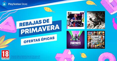 Las Rebajas de Primavera llegan a PlayStation™ Store cargadas de ofertas épicas