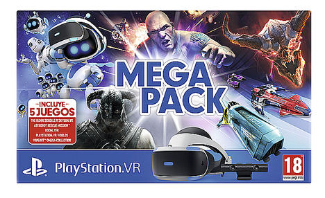 PlayStation® anuncia el Mega Pack PlayStation®VR con cinco grandes videojuegos