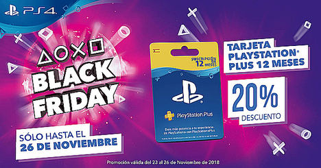 PlayStation® se adelanta al Black Friday con sus ofertas de PS Plus y PS Store
