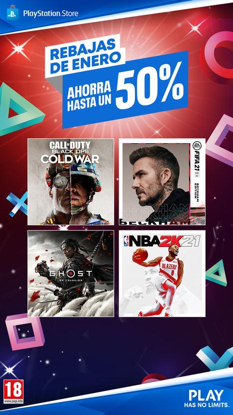 PlayStation™ Store con descuentos en grandes títulos para PS4™ y por primera vez en PS5™
