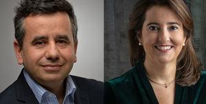 Pablo Ramos y Rebeca Guillén, Toyota España.