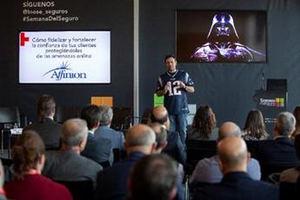 Pablo San Emeterio, analista de innovación y CSA en ElevenPaths (Telefónica Cibersecurity Unit).
