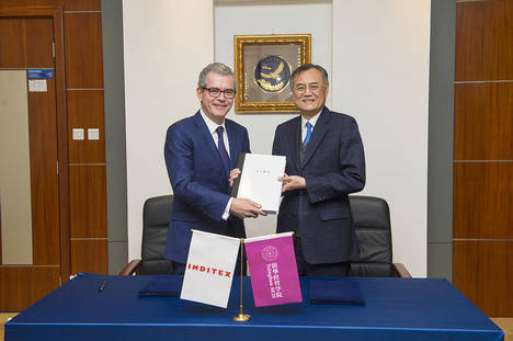 Inditex y la Universidad de Tsinghua SEM de Pekín firman un acuerdo de colaboración