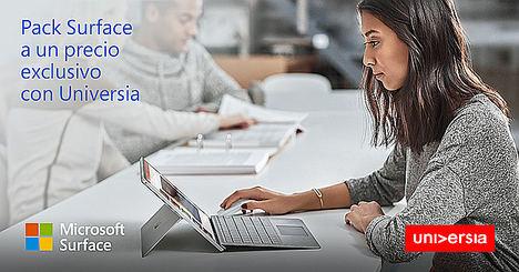 Microsoft y Universia facilitan a los universitarios el acceso a Surface Pro y formación certificada