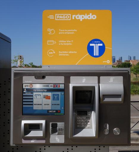 Bip&Drive y Galp permiten el pago de carburantes desde el coche a través del Vía-T y el móvil