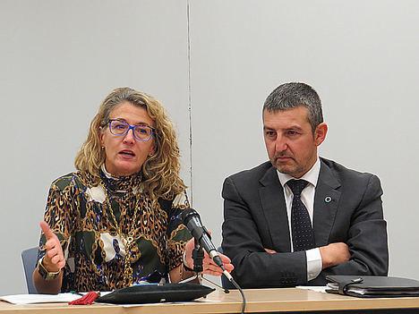 Paloma Casado (MSCBS) y Andoni Lorenzo (FEDE).