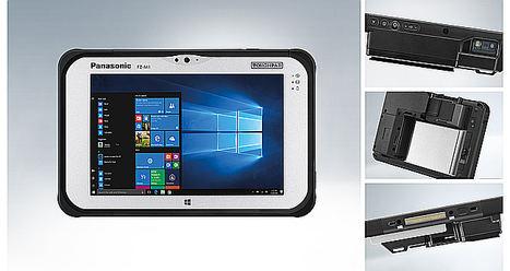 Panasonic presenta una tableta robusta para el control de pasaportes y documentos de identidad