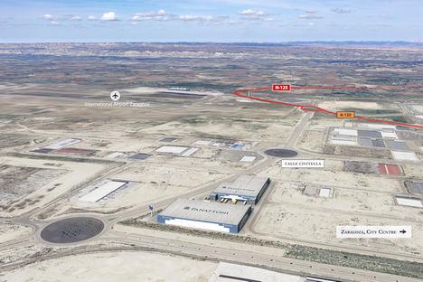 Panattoni adquiere a APL 42.500 m2 de suelo para desarrollar su tercer proyecto logístico en Zaragoza
