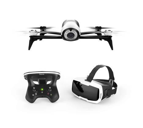 Vuelo inmersivo con el dron de ocio todo-en-uno de Parrot